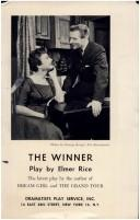 Cover of: The winner by Elmer Rice