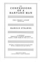 Cover of: The confessions of a Harvard man | Stearns, Harold, Hug Ford
