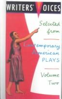 Cover of: Selected from Contemporary American Plays (Writers' Voices) | Lori Gum