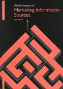 Cover of: World Directory of Marketing Information Sources | Euromonitor Publications