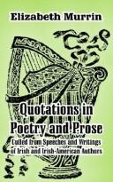 Cover of: Quotations in Poetry and Prose | Elizabeth Murrin