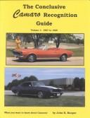 Cover of: Conclusive Camaro Recognition Guide | John Hooper