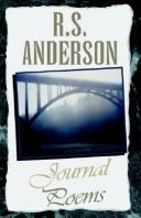 Cover of: Journal Poems by R. S. Anderson