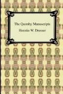 Cover of: The Quimby manuscripts by P. P. Quimby
