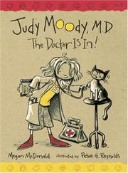 Cover of: Judy Moody, M.D | Megan Mcdonald
