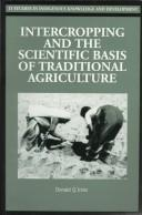 Cover of: Intercropping and the Scientific Basis of Traditional Agriculture | Donald Innis
