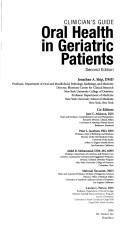Cover of: Clinician's Guide Oral Health in Geriatric Patients by Jonathan Ship