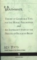 Cover of: Theory of Games As a Tool for the Modern Philosopher (Key Texts) | Richard B. Braithwaite