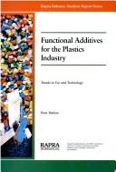 Cover of: Functional additives for the plastics industry | P. W. Dufton