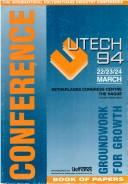 Cover of: UTECH 94 by UTECH 94 (Conference) (1994 The Hague)