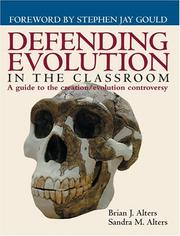 Cover of: Defending Evolution | Sandra Alters