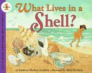 Cover of: What Lives in a Shell? by Kathleen Weidner Zoehfeld