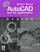 Cover of: Autocad and Its Applications Basics (Basics Solution Manual) | David A. Madsen