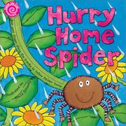 Cover of: Hurry home spider | David Crossley