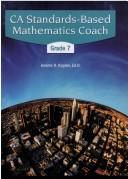 Cover of: CA standards-based mathematics coach | Jerome D Kaplan