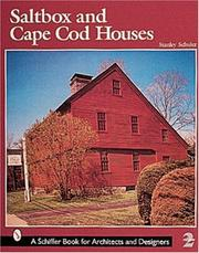 Cover of: Saltbox and Cape Cod Houses by Stanley Schuler