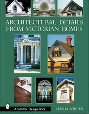 Cover of: Architectural Details from Victorian Homes by Stanley Schuler