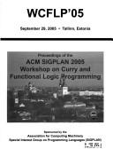 Cover of: Wcflp '05 | ACM Special Interest Group on Programmin