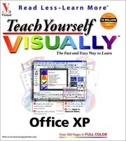 Cover of: Teach yourself visually Office XP by Ruth Maran