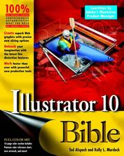 Cover of: Illustrator 10 Bible by Kelly L. Murdock