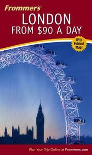 Cover of: Frommer's London from $90 a day | Donald Olson