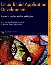 Cover of: Linux Rapid Application Development | Cameron Hughes