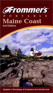 Cover of: Frommer's Portable Maine Coast (Frommer's Portable) | Wayne Curtis