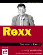 Cover of: Rexx Programmer's Reference (Programmer to Programmer) | Howard Fosdick
