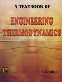 Cover of: A Textbook of Engineering Thermodynamics | R.K. Rajput