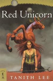 Cover of: Red Unicorn (Starscape) by Tanith Lee