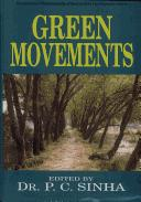 Cover of: Green Movements | P.C. Sinha