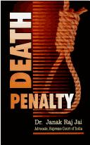Cover of: Death Penalty | Janak Raj Jai
