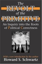 Cover of: The Revolt of the Primitive | Howard Schwartz
