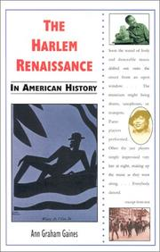 Cover of: The Harlem Renaissance in American history | Ann Gaines