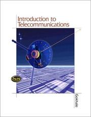 Cover of: Introduction to Telecommunications | Anu Gokhale