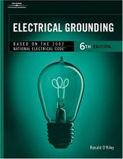 Cover of: Electrical Grounding | Ronald O'Riley