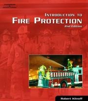 Cover of: Introduction to Fire Protection | Robert Klinoff