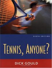 Cover of: Tennis Anyone? | Richard H Gould