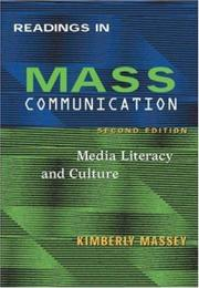 Cover of: Readings in Mass Communications by Kimberley Massey