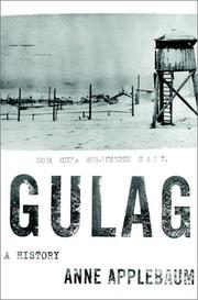 Cover of: Gulag by Anne Applebaum