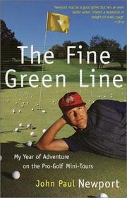 Cover of: Fine Green Line | John Newport