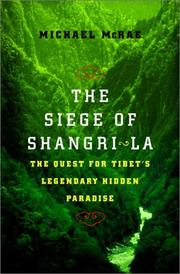 Cover of: The siege of Shangri-La | Michael J. McRae