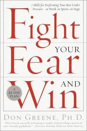 Cover of: Fight Your Fear and Win | Don Dr Greene
