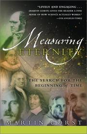 Cover of: Measuring Eternity | Martin Gorst