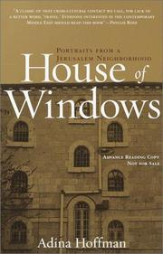 Cover of: House of Windows | Adina Hoffman
