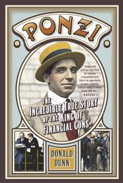 Cover of: Ponzi | Donald Dunn