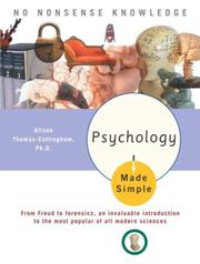 Cover of: Psychology Made Simple | Alison Phd Thomas-Cottingham