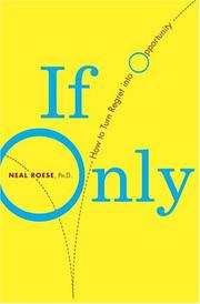 Cover of: If Only | Neal Phd Roese