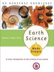 Cover of: Earth Science Made Simple | Edward F. Phd Albin