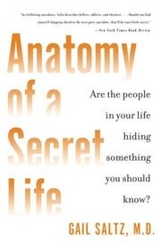 Cover of: Anatomy of a Secret Life by Gail Md Saltz
